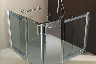 salle de bains pour personne a mobilite reduite leblanc
